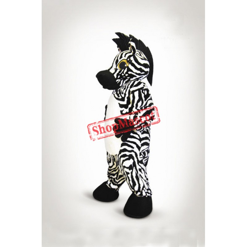 Top Quality Zebra Mascot Costume