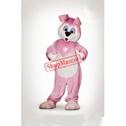 Cute Pink Rabbit Mascot Costume