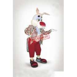 Gent Rabbit Mascot Costume