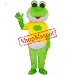 New Cartoon Frog Mascot Costume