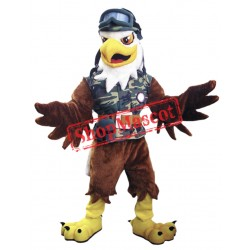 Army Eagle Mascot Costume
