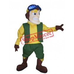 Aviator Mascot Costume