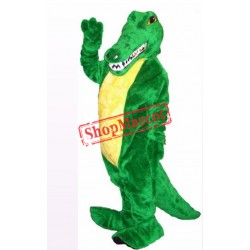 Friendly Alligator Mascot Costume