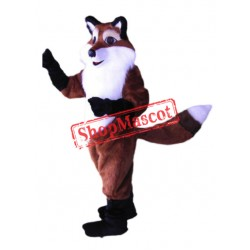 Sly Fox Mascot Costume