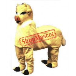 2 Person Cow Mascot Costume