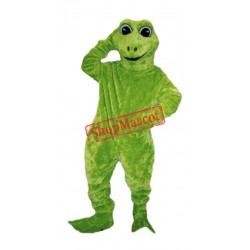 Friendly Lightweight Frog Mascot Costume