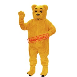 Golden Bear Mascot Costume
