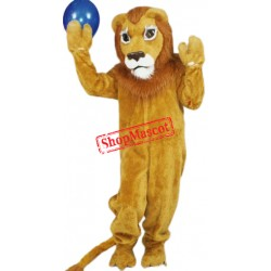 Proud Lion Mascot Costume
