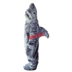 Fierce Ocean Shark Mascot Costume