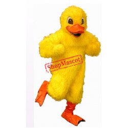 Yellow Lightweight Duck Mascot Costume