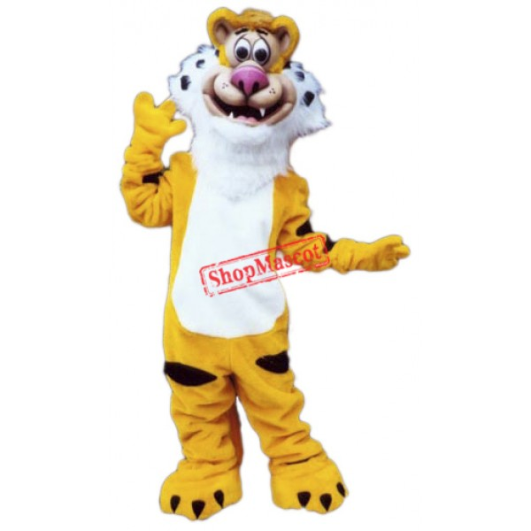 Happy Lightweight Tiger Mascot Costume Free Shipping