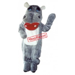 Lovely Hippo Mascot Costume