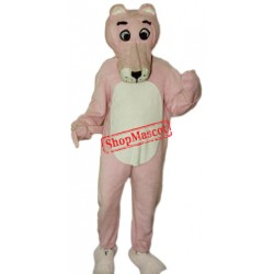 Pink Panther Mascot Costume