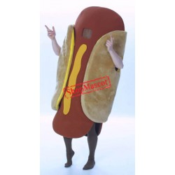 Top Quality Hot Dog Mascot Costume