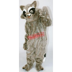 Friendly Raccoon Mascot Costume