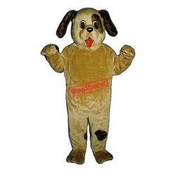 Friendly Puppy Dog Mascot Costume