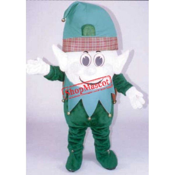 Christmas Elf Mascot Costume