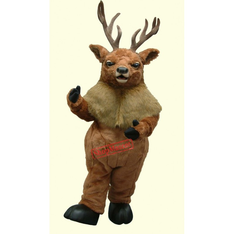 Top Quality Moose Mascot Costume