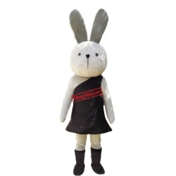 Adult Easter Bunny Rabbit Mascot Costume