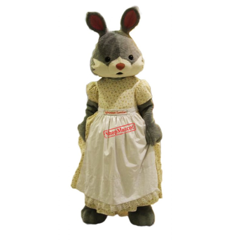 Lady Rabbit Mascot Costume