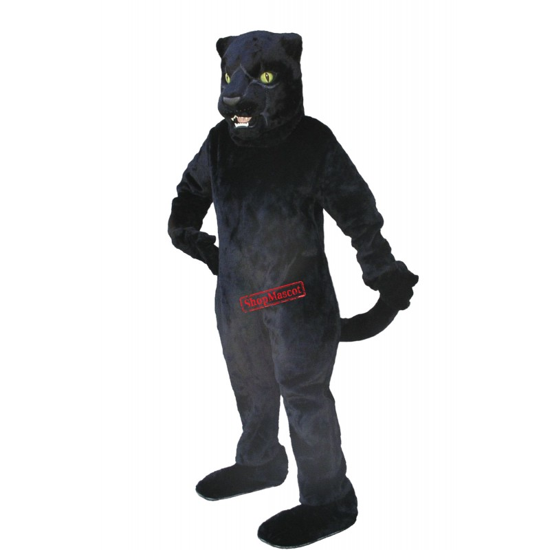 Fierce Lightweight Black Panther Mascot Costume