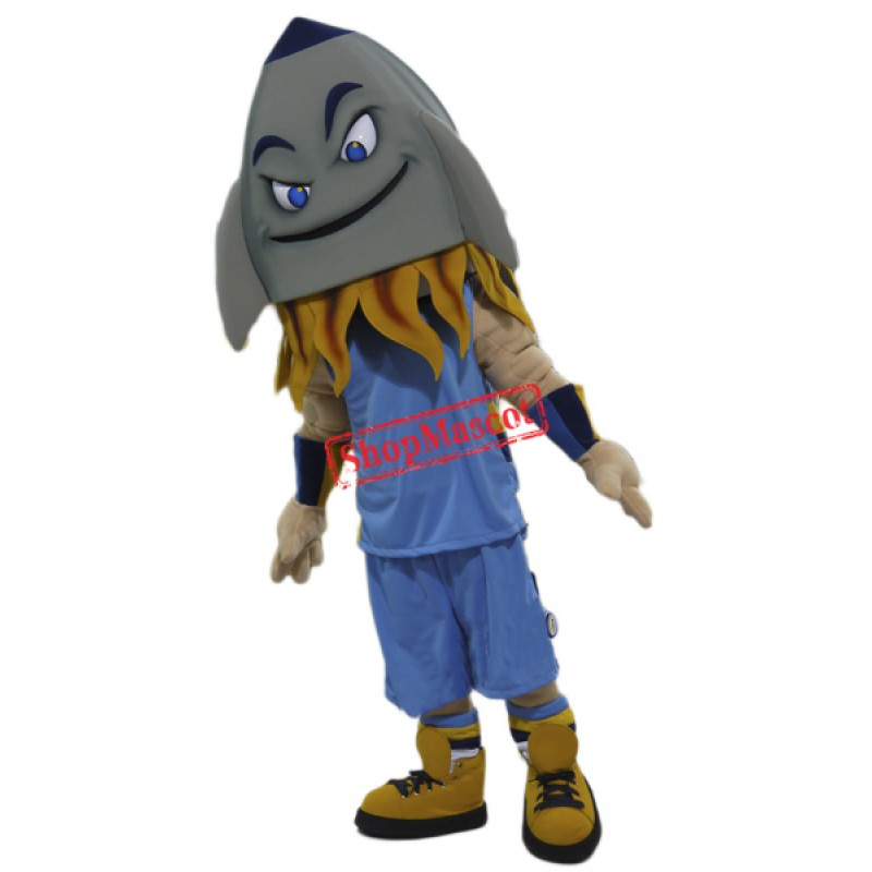 College Rocket Mascot Costume