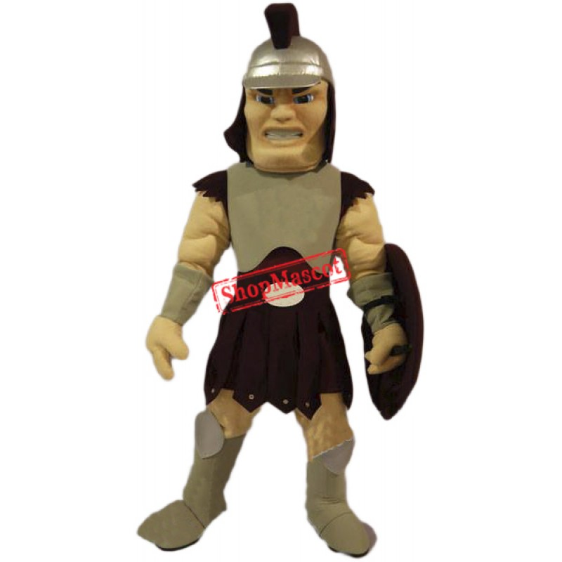 Resolute Spartan Mascot Costume