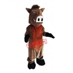 Fierce Boar Mascot Costume