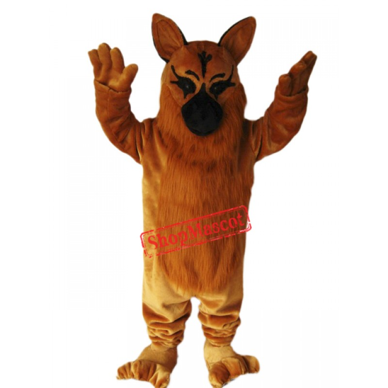 German Shepard Dog Mascot Costume