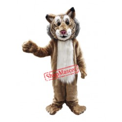 Friendly Lightweight Bobcat Mascot Costume