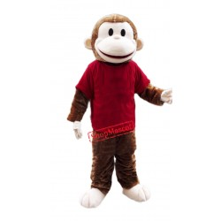 Happy Lightweight Monkey Mascot Costume