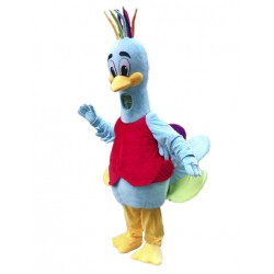Peacock Mascot Costume Free Shipping
