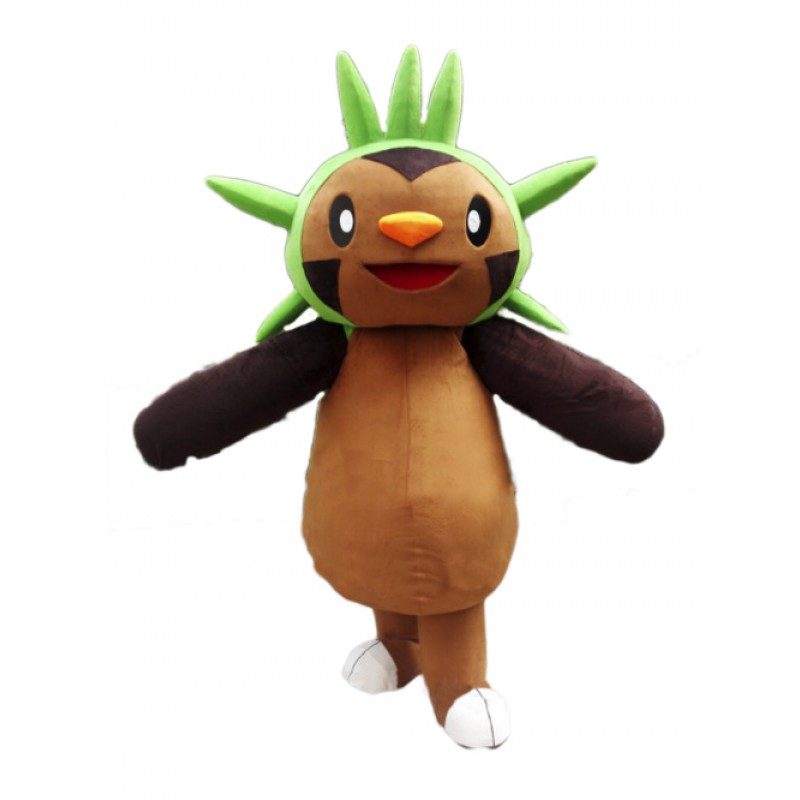Cartoon Chespin Mascot Costume
