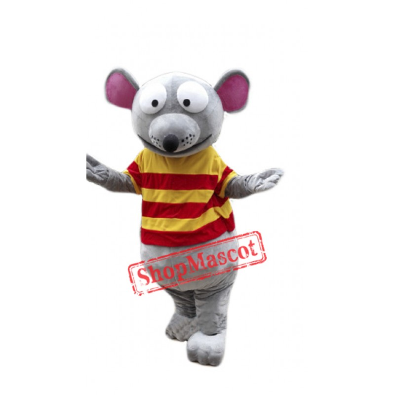 Cartoon Mouse Mascot Costume