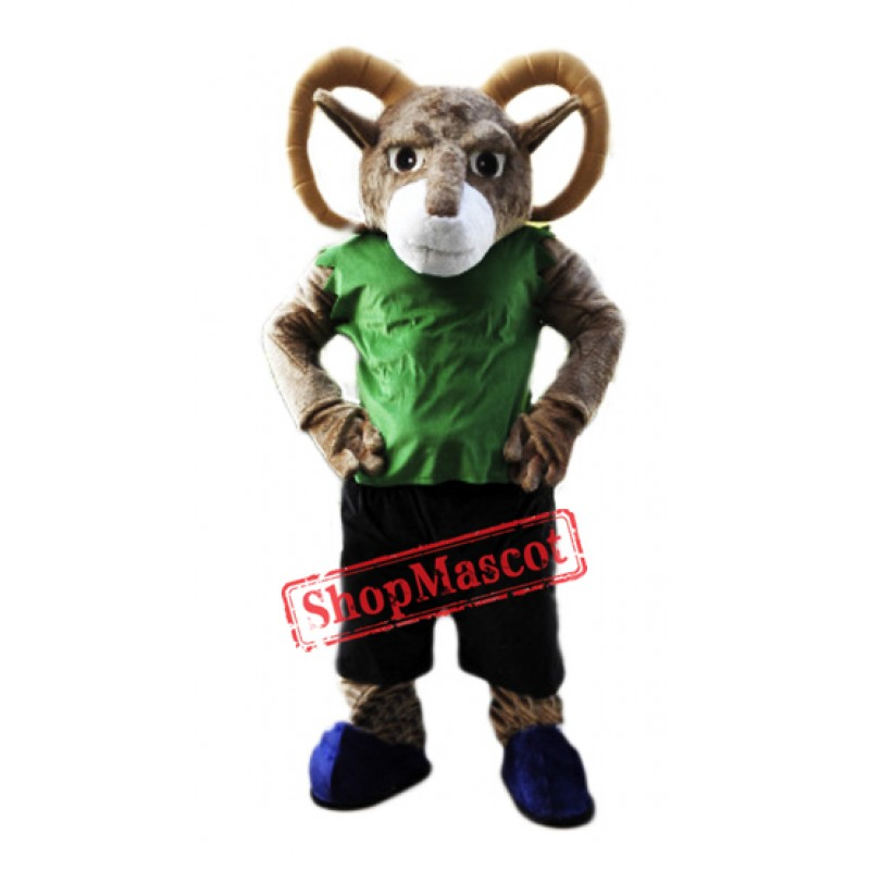 Power Sporty Ram Mascot Costume