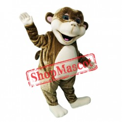 Friendly Lightweight Monkey Mascot Costume