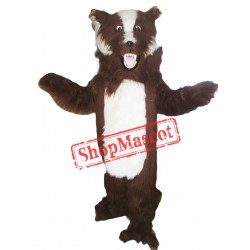Fierce Badger Mascot Costume