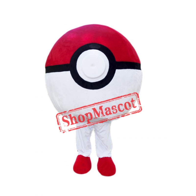 Poke Ball Mascot Costume