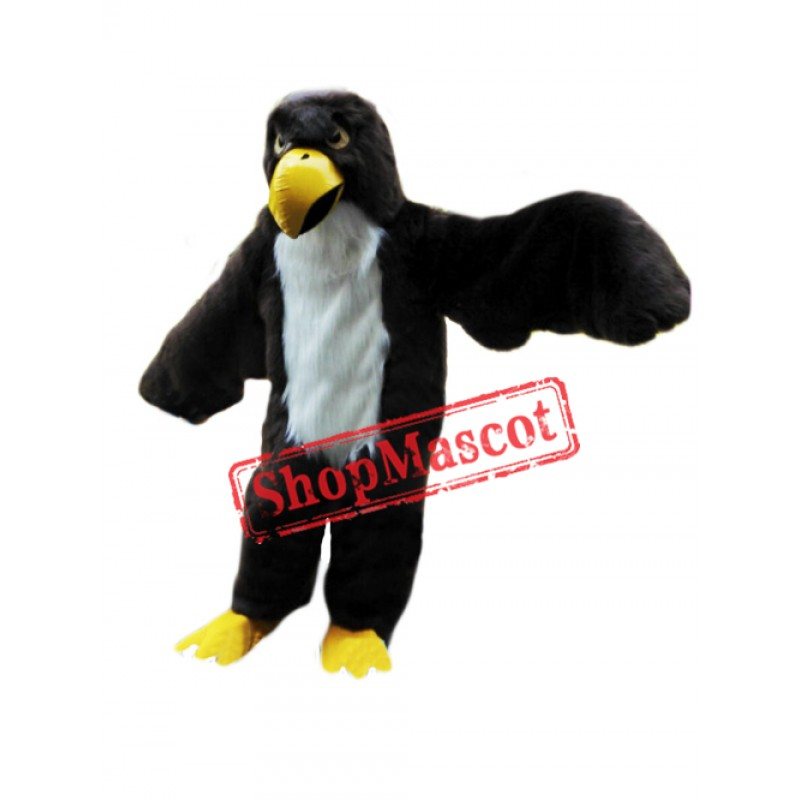 Plush Bald Eagle Mascot Costume