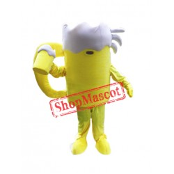 Cold Beer Cup Mascot Costume