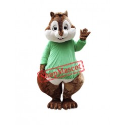 Friendly Lightweight Chipmunk Mascot Costume