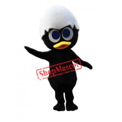 Black Chick Mascot Costume