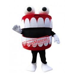 Oral Cavity Mascot Costume
