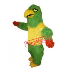 Green Falcon Mascot Costume