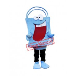 Blue Bag Mascot Costume
