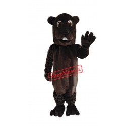 Cute Adult Beaver Mascot Costume Free Shipping