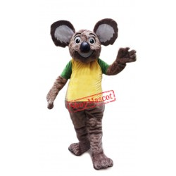 Happy Lightweight Koala Mascot Costume