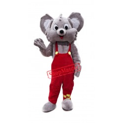 Cute Grey Koala Mascot Costume