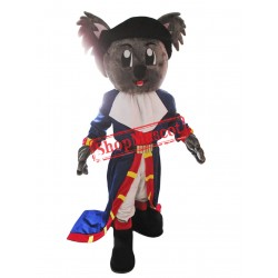 Pirate Koala Mascot Costume
