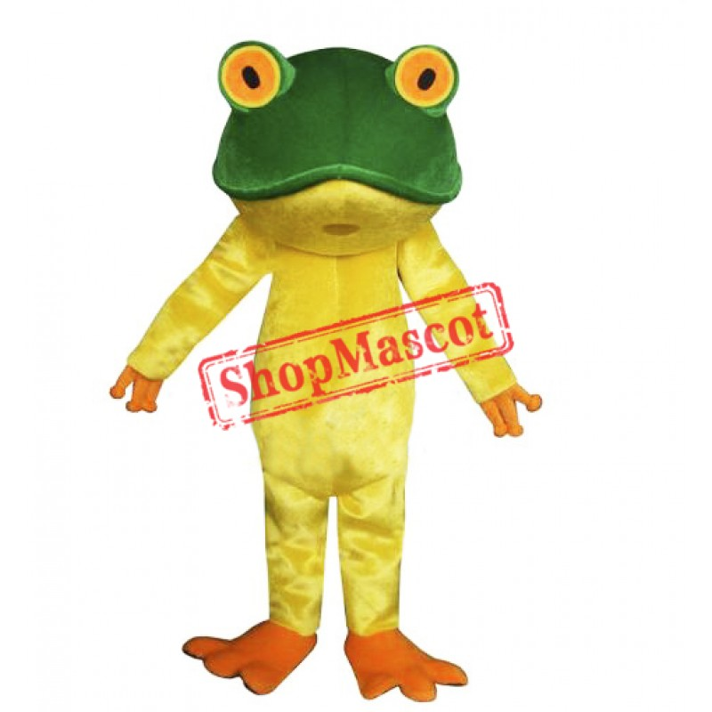 Cute Lightweight Frog Mascot Costume